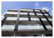 ●物件名/ATRACTIVO(アトラクティーボ)、●所在地/千葉県市川市妙典、●構造/鉄筋コンクリート造5階建、●総戸数/18戸(2LDK・8戸/1LDK・9戸/居宅・1戸)、●敷地面積/646.74㎡(195.63坪)、●延床面積/1085.71㎡(328.42坪)、●用途地域/第一種中高層住居専用地域、●防火地域/法22条地域、●容積率/147.92%(200%)、●建ぺい率/43.08%(60%)、●竣工年月/2016年6月17日予定