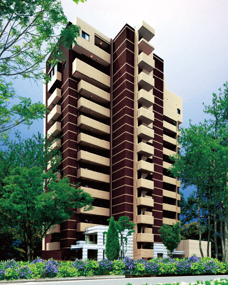 免震構造でグレードアップし、近隣物件との差別化と入居者様の満足度向上を実現した「エ・リヴィエール」。