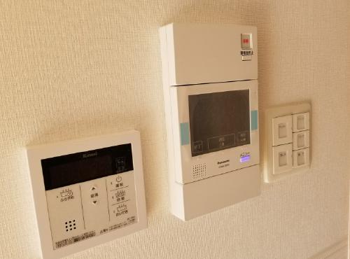24時間対応のホームセキュリティーも設置可。
