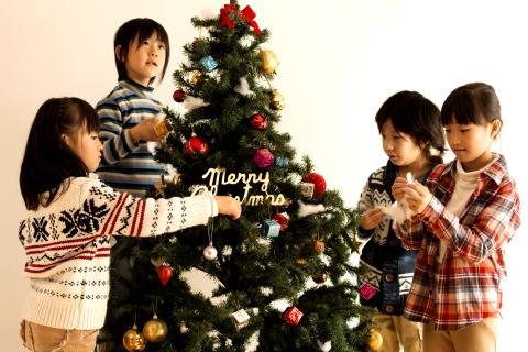オーナー様発案のクリスマス会は、子どもたちの楽しい思い出に。