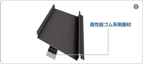 騒音を軽減する屋根