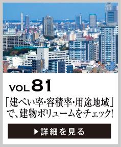 vol81 「建ぺい率・容積率・用途地域」で、建物のボリュームをチェック!