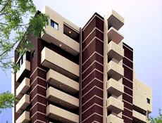 免震構造賃貸マンションへの建替え事例
