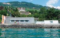 レマン湖畔の小さな家(スイス)
