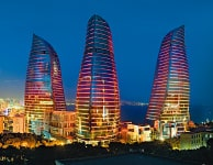 フレイム・タワーズ(アゼルバイジャン)